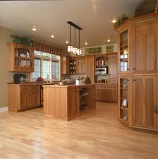 mission style kitchen cabinets craftsman style kitchen hickory wood cabinets craftsman