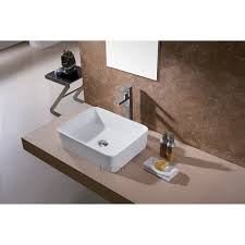 luxier cs 013 bathroom porcelain ceramic vessel vanity sink art