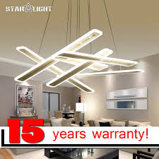 hanging bedroom lights new modern led hanging chandelier for living room bedroom lighting