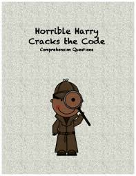 horrible harry cracks the code comprehension questions