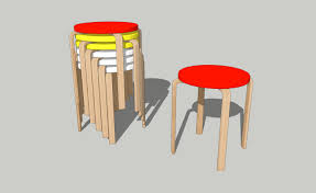 how to draw ikea forosta stool on sketchup youtube