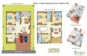 east facing duplex house floor plans west facing duplex house plans modern for x site designs feng shui