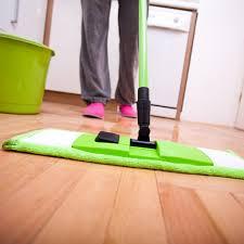 washing hardwood floors review