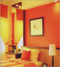 orange wall paint color schemes living room grey images also