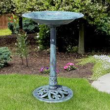amazon com best choice products pedestal bird bath garden decor