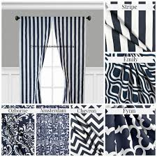 Navy Patterned Curtains Curtain Navy Blue Pattern Curtainsnavy Patterned Curtains