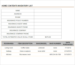inventory management template 8 free excel pdf documents