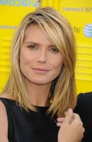 medium length straight hairstyles by ashley olsen women medium