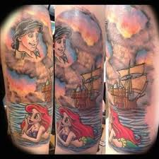 amazing disney tattoos photos