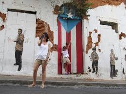 san juan u0027s puerto rican flag landmark painted black