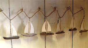 seaside gifts hanging maritime garlands driftwood garlands