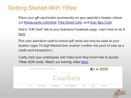 mastercard e gift card yiftee egift card program launch kit