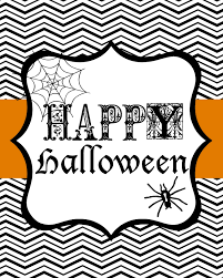 Free Halloween Printable Decorations Happy Halloween Brianna U0027s Blog