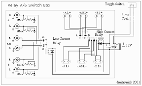 simple yet versatile relay controlled a b switch box
