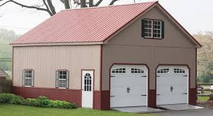 pre fabricated garages u0026 double wide 2 story garage amish