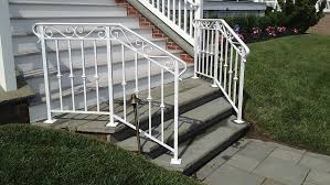 aluminum railings nj made to order in nj by newman s