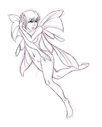 coloring page fancy how to draw a pixie drawn fairy 2 coloring