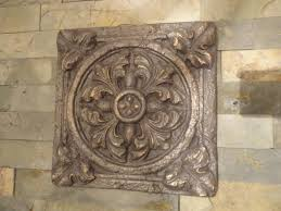 home decor wall plaques decor tips square bronze decorative floral wall plaques for