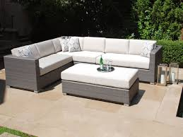 Small Outdoor Patio Furniture Small Outdoor Patio Sectional Gccourt House