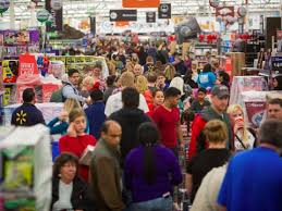 black friday at walmart kicks on thanksgiving day business