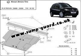 nissan almera gearbox oil sump guard for nissan almera tino