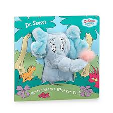 dr seuss u0027 horton hears puppet book buybuy baby