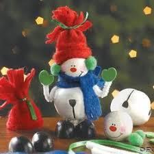 3 jingle bell snowman ornament craft kits ornaments crafts