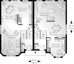 Multi Unit House Plans Gailcrest Multi Family Duplex Plan 032d 0607 House Plans And More