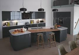 cuisine ultra moderne cuisine anthracite et bois moderne choosewell co