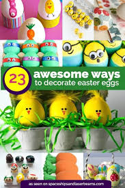 easter eggs decorated pictures 23 adorable easter egg ideas spaceships and laser beams