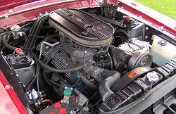 1965 mustang 289 horsepower ford engine