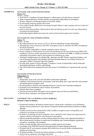 resume template for managers executives definition of terrorism manager investigations resume sles velvet jobs