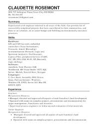 Property Management Resume Samples by Functional Resumes Functional Resume Template Free Sample