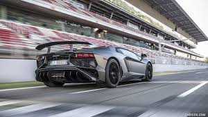 lamborghini gray 2016 lamborghini aventador lp 750 4 superveloce grey rear hd