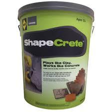 Concrete Planters Home Depot by Sakrete Shapecrete 20 Lb Shape Able Concrete Mix 65450022 The