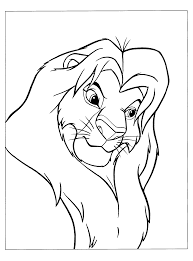 astonishing lion king simba coloring pages simba