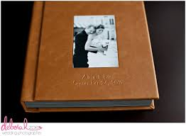 leather wedding albums eric s wedding album deborah zoe photography