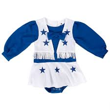 Dallas Cowboys Cheerleaders Halloween Costume Dallas Cowboys Cheerleader Infant Toddler Cheer Uniform Infant