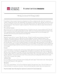 Registered Nurse Resume Objective Statement Examples Resume To Get Into Nursing School Resume For Your Job Application