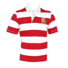 British Flag Shirts Adidas British And Irish Lions 1903 Rugby Jersey Red U0026 White