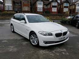 2012 bmw 5 series touring 530d se auto estate turbo diesel white