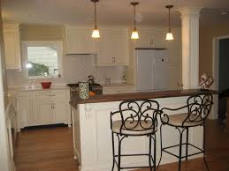 Kitchen Island With Bar Stools by Kitchen Island Bar Decorating Ideas To White Kitchen Island With