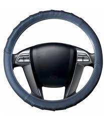 m toyota speedwav grippy sc106m leatherette car steering cover grey m