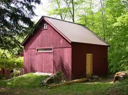 new england barn new england kingpost barn new england kingpost barn see larger photo