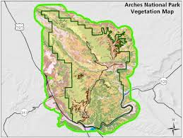 Arches National Park Map Vegetation Mapping In The Northern Colorado Plateau Network