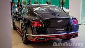 black bentley bentley continental gt speed black speed in malaysia 1 of 20 in