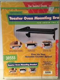 Toaster Oven Under Cabinet Hamilton Beach Universal Toaster Oven Mounting Bracket For Under