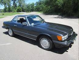 mercedes on ebay 1988 mercedes 560sl with just 18 252 one owner for sale