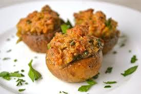 italian stuffed mushrooms thanksgiving appetizer stuck on sweet