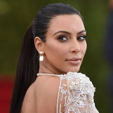 kim kardashian u0027s trick to taming the top of your ponytail glamour